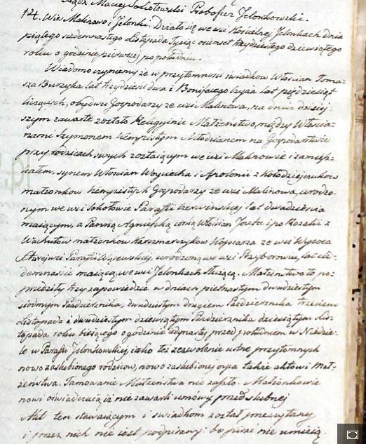 aktu ślubu z 1839 roku parafia Jelonki -Szymon Kempisty i Agnieszka Kaczmarczyk -księgi przechowywane są w AP Warszawa oddział Pułtusk
