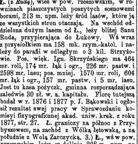 słownik o letowwni