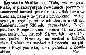 słownik  o wolce