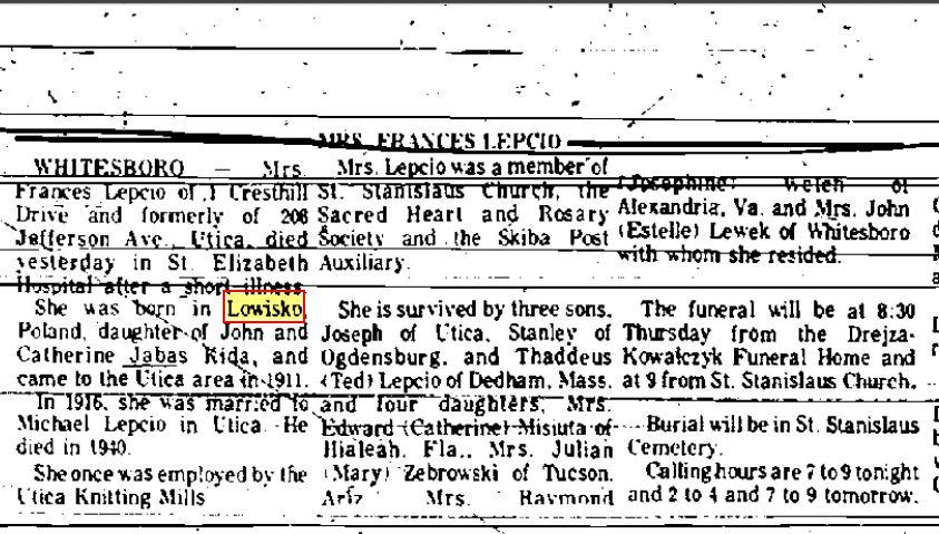 15 kwietnia 1975 utica Observer.JPG